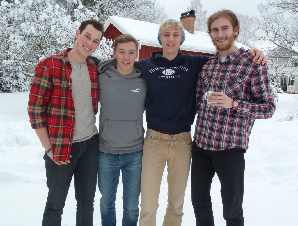 2nd Gens from L to R: Quinn, Braden, Andrew & Devin