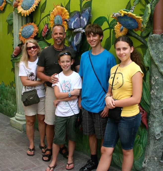 Carol Collins family
