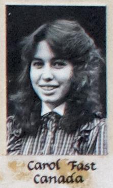 Carol (Fast) Collins 1982-83