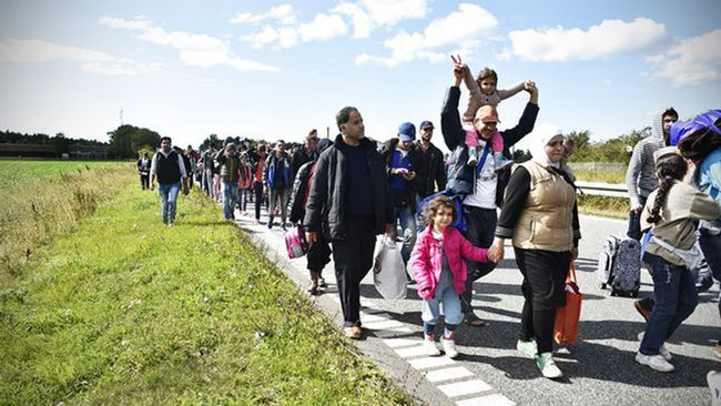 Refugees are flooding into Sweden