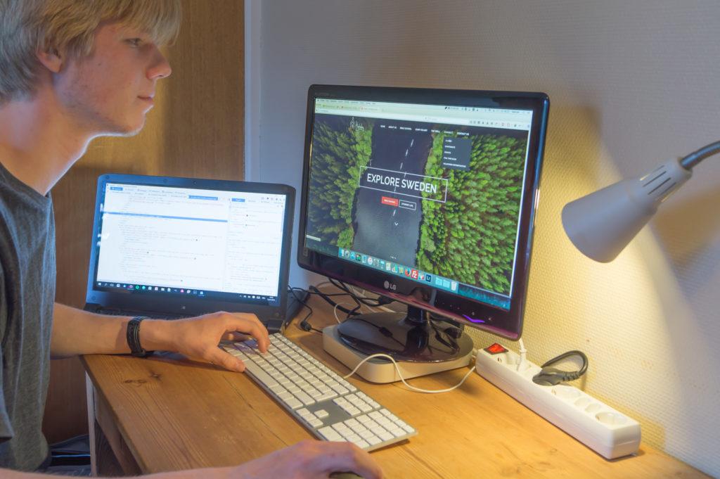 Samuel Weirich - Holsby web designer